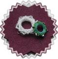 180 2 Bling Rings von Trytobead
