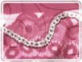 14 Armband mit Würfelperlen