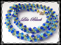 1170 - Blue Bicone Spirale