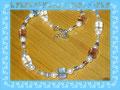 059 - Würfelkette - wirkt getragen viel schöner (EK)