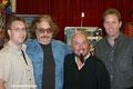 v.L. Jürgen Reschreiter, Bernhard Paul, Robert Kaldy & Christoph Enzinger