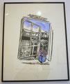 """Nicoline Nieuwenhuis- Clay print """"Hoe dood eenvoudig"""""""