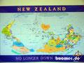 So sieht man in Neuseeland die Welt...