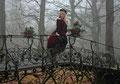 Fantasie & Wirklichkeit Fotografien und Gedichte Kathrin Steiger märchenhaft verträumt romantisch junge Frau Buch Brücke Treppe Herbst