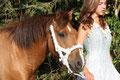 Fantasie & Wirklichkeit Fotografien und Gedichte Kathrin Steiger Mädchen mit Pferd