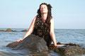 Fantasie & Wirklichkeit Fotografien und Gedichte Kathrin Steiger märchenhaft verträumt Wasserwesen Nixe Meerjungfrau Algen Seetang Tang