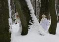 Fantasie & Wirklichkeit Fotografien und Gedichte Kathrin Steiger märchenhaft verträumt romantisch Winter Schnee Winterelfe Winterfee Schneemädchen Schneeprinzessin Schneewichtel