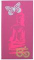 """Bild Neon-Buddha """"dunkelaltrosa"""""""