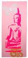 "Bild Neon-Buddha ""hellrosa"""