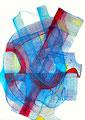 Mantra Vibrátil3, mixta sobre papel, 22 x 15 cms, marvilla/14