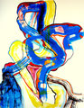 Galimatías - Mixta sobre papel 39 x 30 cm, 12