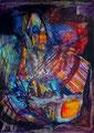 Libertad de Culto - Mixta sobre foam 70 x 50 cm