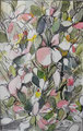 Frühling I; Mischtechnik, 10 x 15 cm