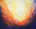 Auferstehung: Acryl auf Leinwand, 60 x 50 cm