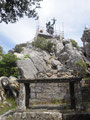Denkmal auf dem Hausberg in Nuoro
