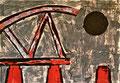 Ohne Titel; Technik: Tempera auf Papier; Datum: Oktober 1992; Format (HxB): 70 x 100 cm