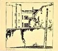 Titel: Kurische Straße; Technik: Siebdruck; Datum:1980; Format (HxB): 43 x 49 cm