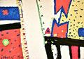 Ohne Titel; Technik: Tempera auf Papier; Datum: Juli 1987; Format (HxB): 70 x 100 cm