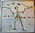 Titel: Aphrodite (woman's offer); Serie: Das Urteil des Paris; Technik: Mischtechnik; Datum: April 1984; Format (HxB): 167 x 177 cm