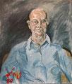 Portrait Anton Jobs; Technik: Mischtechnik; Datum: 1980; Format (HXB): 70 x 60 cm (in Privatbesitz)