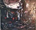 Pére Lachaise Aux Morts de la Commune 21. – 28. Mai 1871;Technik: Mischtechnik; Datum: Mai 1983 – Mai 1984; Format (HxB): 110 x 130 cm