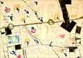 Ohne Titel; Technik: Tempera auf Papier; Datum: November 1987; Format (HxB): 70 x 100 cm