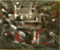 Ohne Titel; Technik: Mischtechnik; Format (HxB): 50 x 60 cm