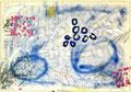 Ohne Titel; Technik: Tempera auf Papier; Datum: Mai 1986 Format (HxB): 70 x 100 cm