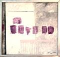 Titel: Übermalung; Technik: Mischtechnik; Datum: Juli 1984; Format (HxB): 106 x 111 cm