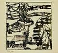 Ohne Titel; Technik: Siebdruck; Datum:1980; Format (HxB): 45 x 49 cm