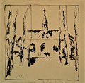 Titel: Andreas-Markus-Kapelle; Technik: Siebdruck; Datum:1979; Format (HxB): 48 x 49 cm