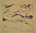 Titel: Stobstke Pleso; Technik: Siebdruck; Datum:1979; Format (HxB): 45 x 49 cm