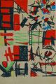 Ohne Titel; Serie: Skizze; Technik: Filzstift auf Papier; Format (HxB): 25,5 x 17 cm