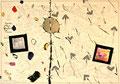 Ohne Titel; Technik: Tempera auf Papier; Datum: Dezember 1987; Format (HxB): 70 x 100 cm