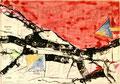 Ohne Titel; Technik: Tempera auf Papier; Datum: Oktober 1987; Format (HxB): 70 x 100 cm