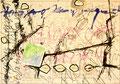 Ohne Titel; Technik: Tempera auf Papier; Datum: September 1986; Format (HxB): 70 x 100 cm