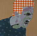 Jubel, 2004, 50 x 50 cm
