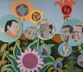 Wird ihnen das Lachen bald vergehen?, 2003, 150 x 170 cm