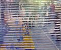 """""""残るもの、残らないもの"""" 高森幸雄 2013 acrylic on digital print 432×356 mm デジタルプリント、アクリル Exhibition:2013年12月 Gallery檜B"""