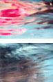 """""""水中を泳ぐ女性"""" 高森幸雄 2012 (細部 Detail)"""