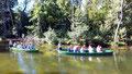 Bootstaken auf der Krutynia in Krutyn