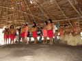 "Indianerstamm ""Yaguas"" am Amazonas"