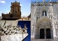リスボンのジェロニモス修道院とベレンの塔(ポルトガル)