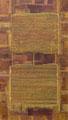 L'Histoire Immobile, marouflages, pigments,  acrylique/ toile- 150 x 80 cm
