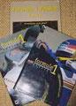 Formule 1 Passion, 3 tomes 1996, 1997, 1998 - Auteur (photos Dominique Leroy) + mise en pages - 5 éditions différentes - Éditions LeSir, HMH, DiffoMédia