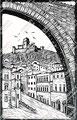 Arco Santa Chiara con vista Rocca