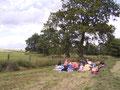 Spaziergang mit Picknick 2004
