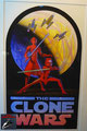 The Clone Wars Poster Digital Print von Russell Chong