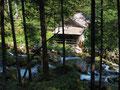 Alte Mühle beim Gollinger Wasserfall
