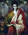 Johannes · Patron der Buchhändler · El Greco um 1600